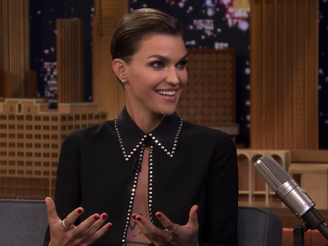 Ruby Rose can't hold back her excitement at getting to play Batwoman
