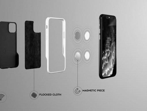 Radiation-Blocking Phone Cases - The Halo Case is Protective and 100% Recyclable (TrendHunter.com)