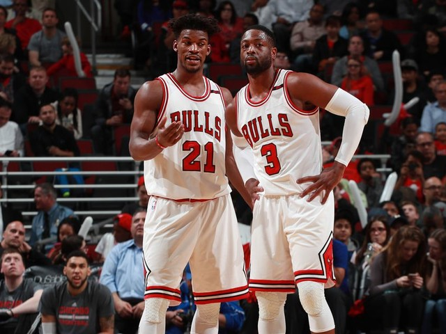 Did Dwyane Wade plant seeds for Jimmy Butler's arrival in Miami while both were with the Bulls?