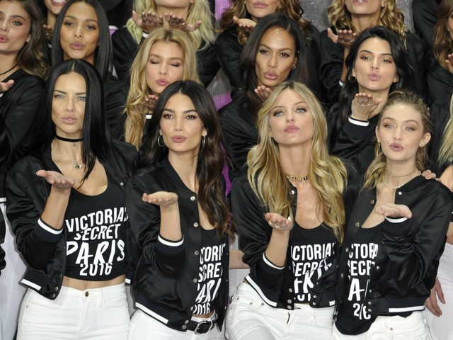 China is surveilling everyone involved with the Shanghai Victoria's Secret show