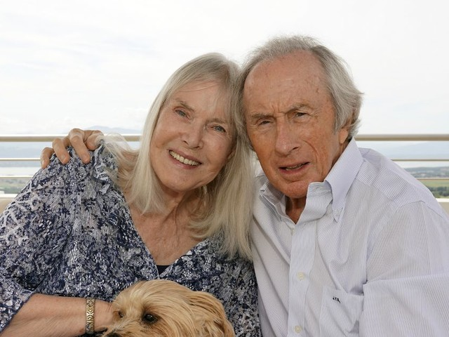Jackie Stewart hugs wife with dementia every day to treasure moments before she forgets him