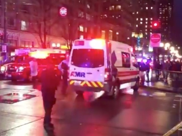 Police say that at least 1 person is dead and 7 others are injured after shooting in downtown Seattle