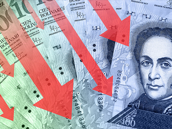 Venezuela only has $10 billion left in reserves