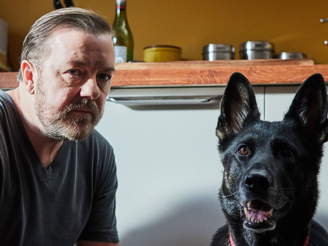 Ricky Gervais Stars In Netflix's 'After Life' - First Look!