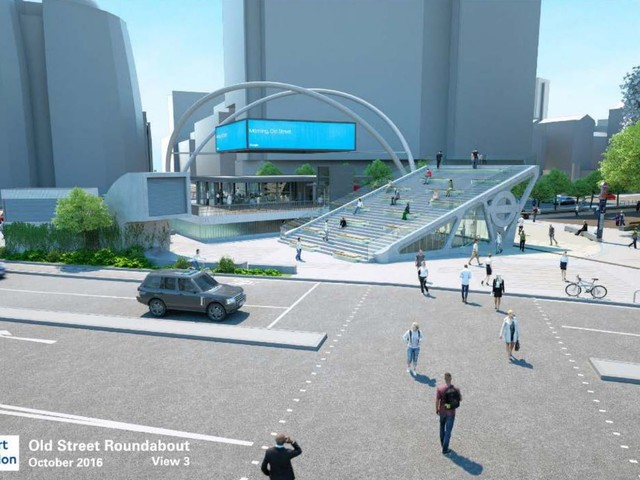 Calls for design to revamp Old Street roundabout