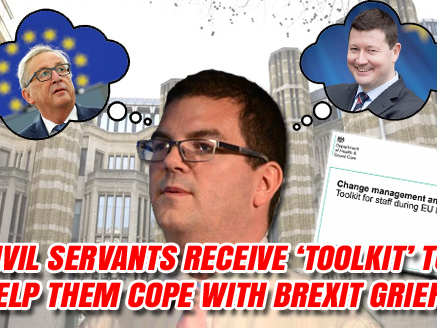 Civil Servants Receive 'Resilience Toolkit' to Help Them Cope With Brexit Grief