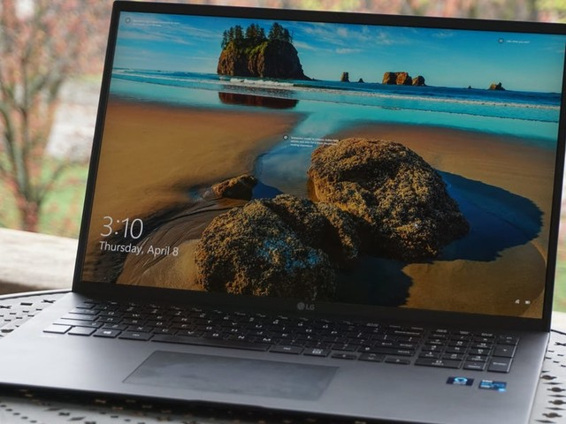 The LG Gram 17-inch laptop for 2021 is a marvel of lightweight laptop engineering, but it's just too big to handle