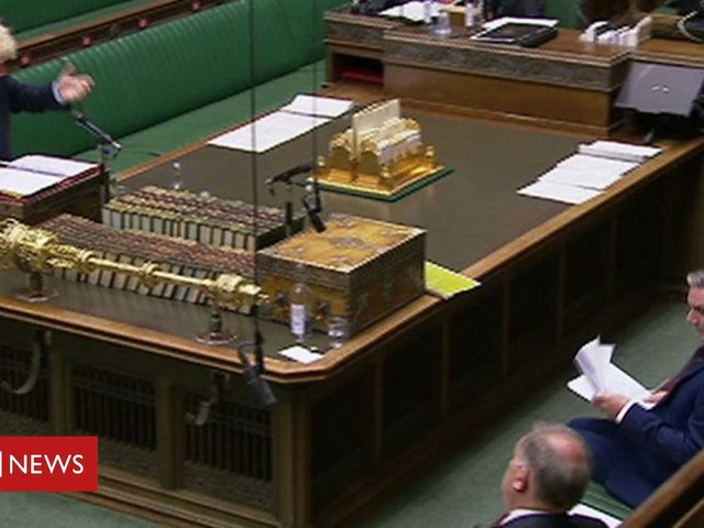 PMQs: Starmer and Johnson on BA jobs terms and conditions