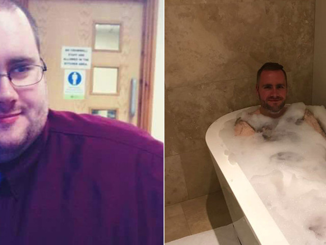 Man Celebrates Having First Bath In 20 Years After Losing An Incredible 14 Stone