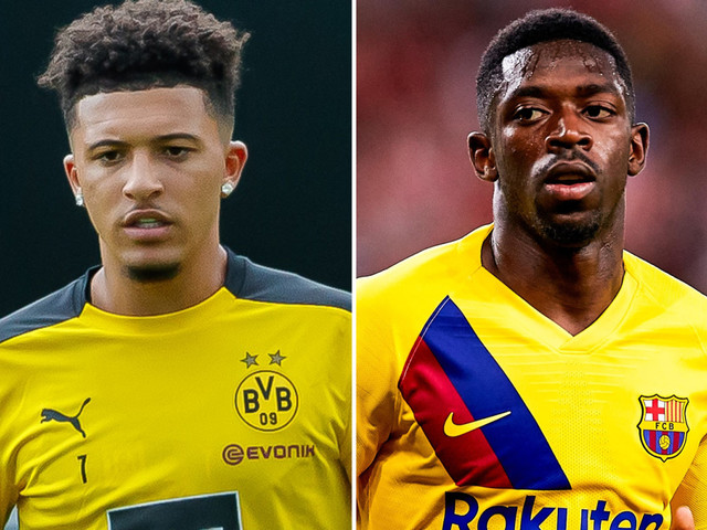 Man Utd make Dembele No1 transfer target if Sancho deal falls through with Coman and Costa also eyed as alternative