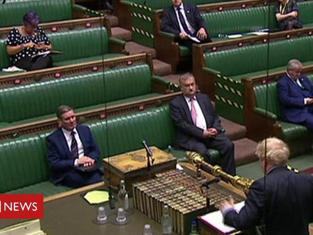PMQs: Davey asks Johnson to back post-coronavirus inquiry