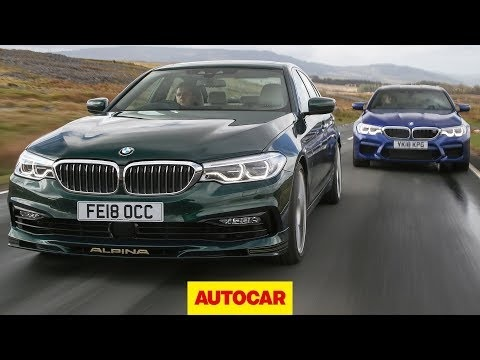 Video: BMW M5 vs. Alpina B5 | Hot German ubersaloon review | Autocar