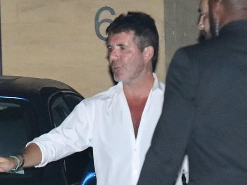 Simon Cowell reunites with ex Terri Seymour over dinner in LA