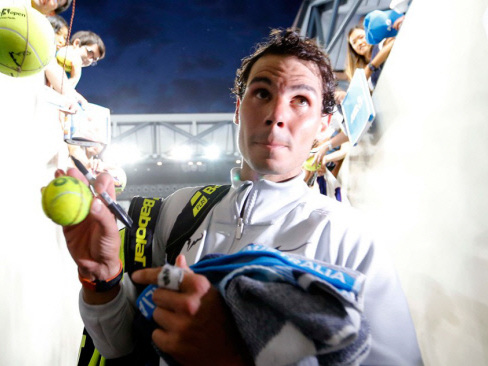 Nadal headlines with Slam quarters at stake