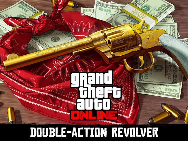 GTA Online treasure hunt rewards players with Double-Action Revolver for use in Red Dead Redemption 2