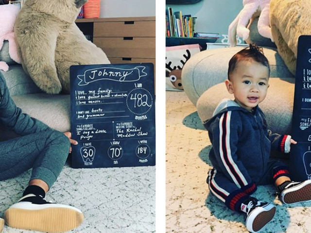 Chrissy Teigen And John Legend Celebrate Their Son's 9-Month Milestones In The Best Way