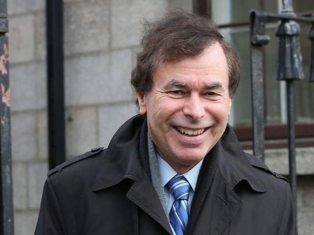 Double killer Malcolm Macarthur attends ex-Justice Minister Alan Shatter's book launch