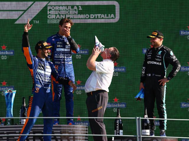 Daniel Ricciardo claims shock win at F1 Italian GP