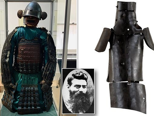 Was Ned Kelly the last samurai? Japanese warrior's costume could have inspired bushranger's armour