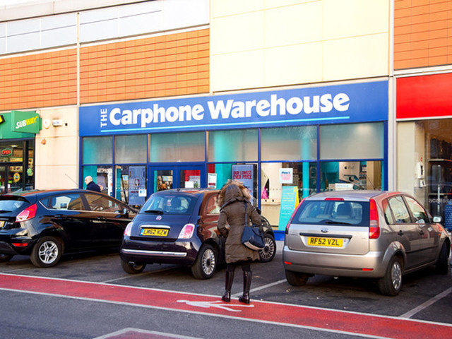 Hello, Dixons Carphone? Yep, we're ringing from a 2015 handset. Profits down 60%, eh?