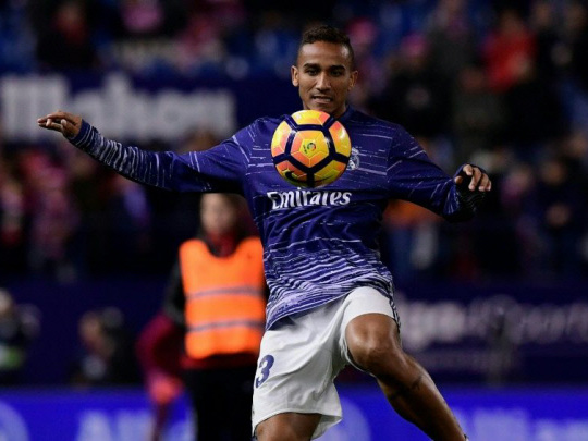 Real's Danilo set for Man City move