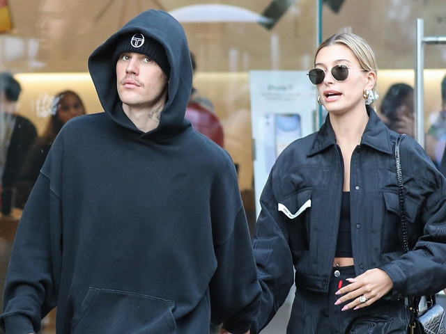 Justin Bieber Spends a Casual Saturday in L.A. with Wife Hailey