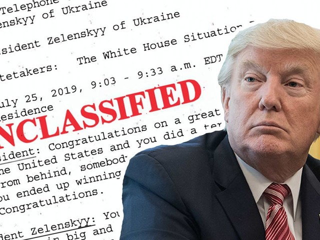 Here's a full reading of the phone call memo between Trump and Ukraine