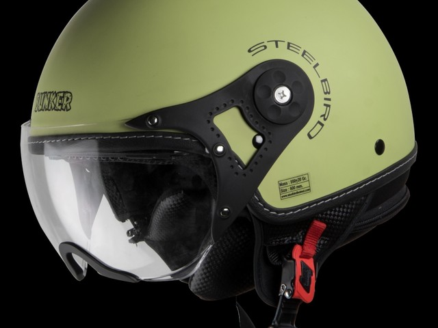 Steelbird Bunker Rack Helmet Range Targets Royal Enfield And Cruiser Motorcycle Riders