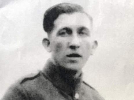 Soldier's Italian grave honoured by sons born days before his death in 1943