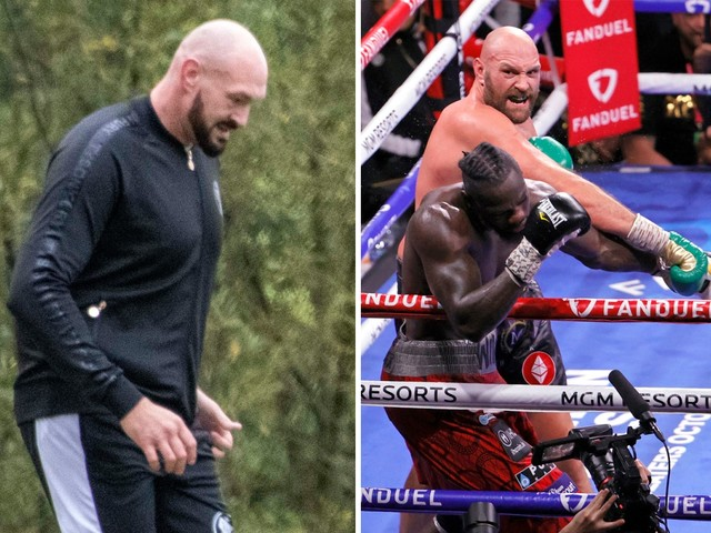 Tyson Fury wasn't ready for Deontay Wilder trilogy and 'struggled' running 'three miles' month before fight