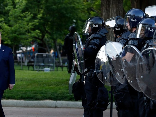 National Guard member deployed in DC when tear gas was launched at peaceful protesters said what he saw was 'really f----- up'