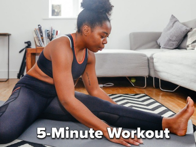 Want To Improve Your Flexibility? Try This 5-Minute Stretch Routine