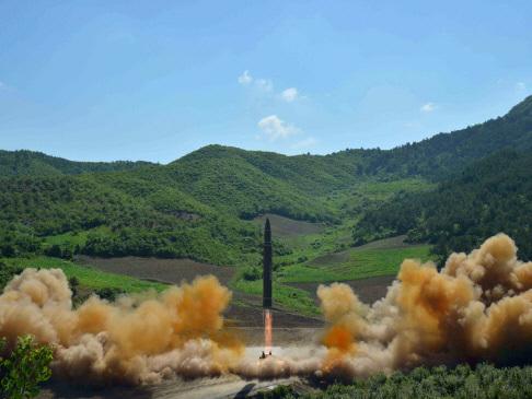 N. Korea claims major breakthrough with first ICBM test
