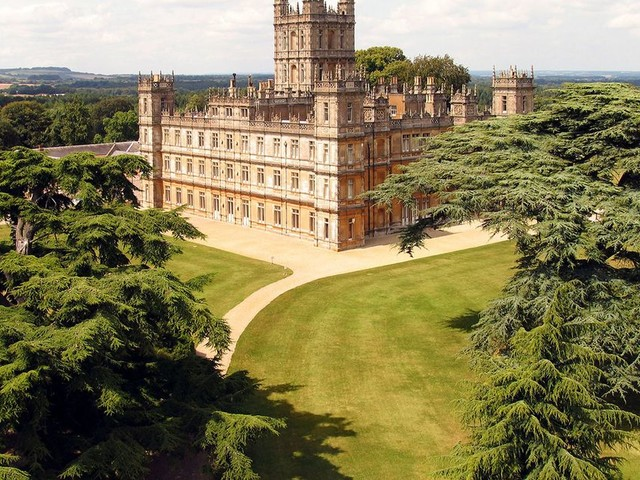 The real Downton Abbey has been listed on Airbnb - for one night only