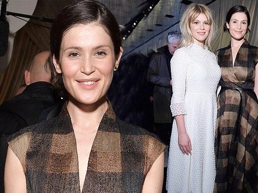 Gemma Arterton attends Christian Dior PFW show