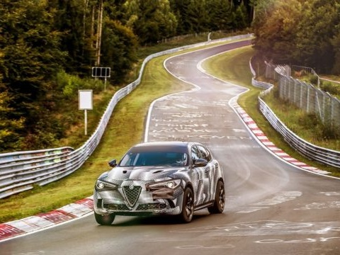 2018 Alfa Romeo Stelvio Quadrifoglio Priced at $80K