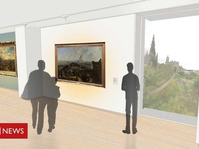 Refurbishment plans for Scottish National Gallery
