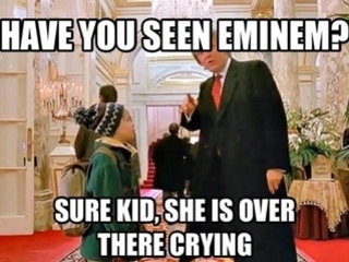 EXCUSE ME MR. PRESIDENT, HAVE YOU SEEN EMINEM?