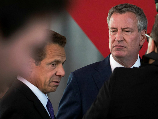 New York mayor's re-election campaign off to good start