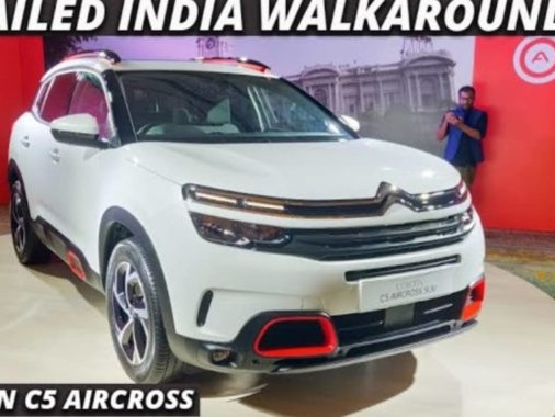 Here Is a Walkaround Video of the Citroen C5 Aircross SUV