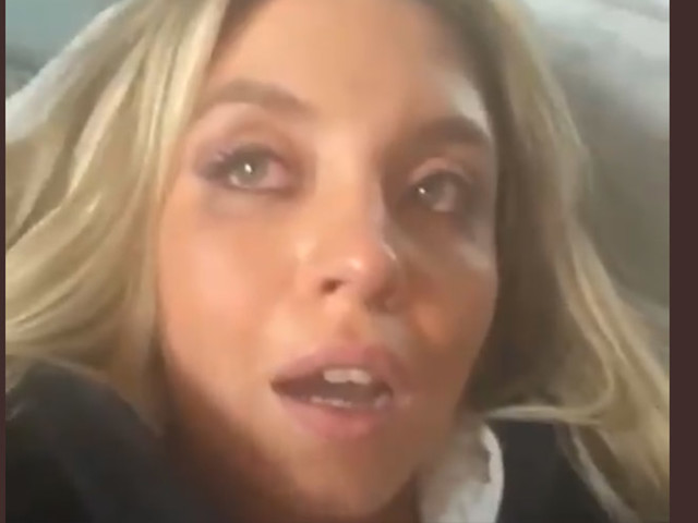 Sydney Sweeney Tears Up on Instagram Live After Trending 'For Being Ugly'