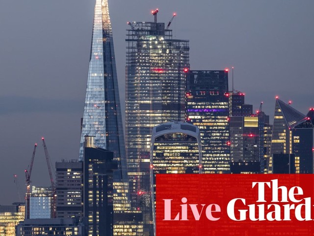 Firms lose confidence in UK economy as Brexit looms – business live