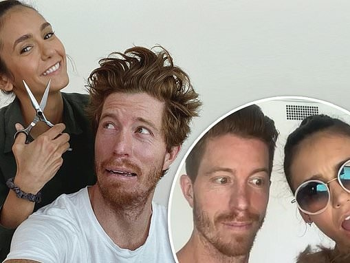 Nina Dobrev CONFIRMS romantic relationship with Shaun White and gives snowboarder quarantine haircut