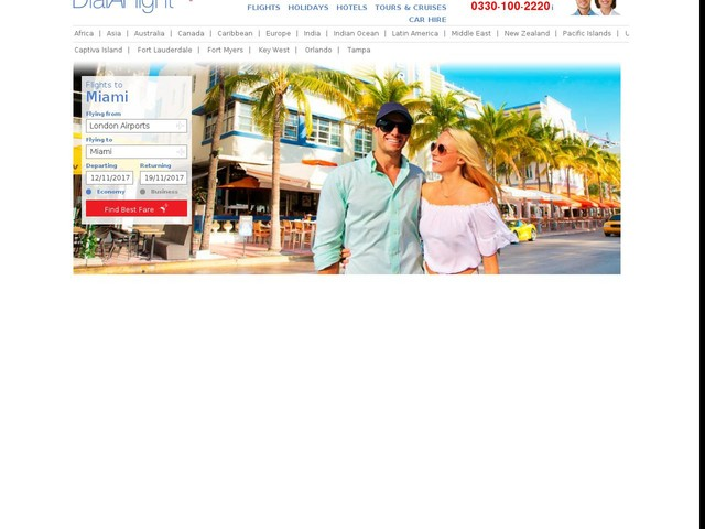 Best flights to Miami. See latest offers from DialAFlight