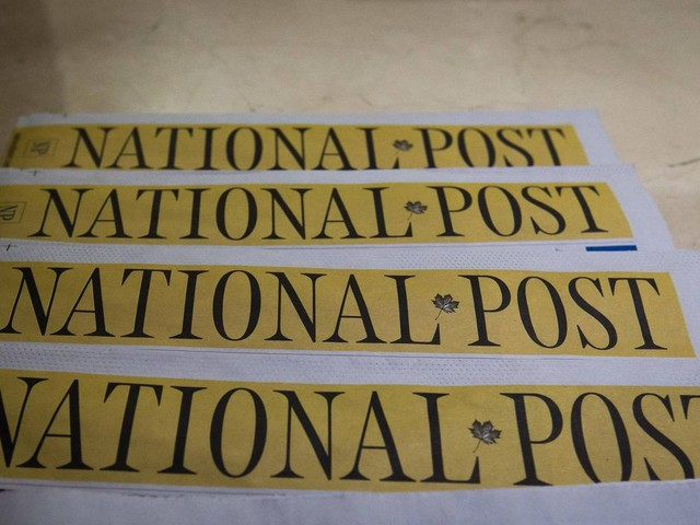 National Post newsroom workers in Toronto, Ottawa file for union certification