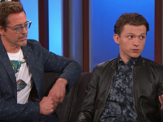 Jimmy Kimmel Praises Tom Holland And Says 'Spider-Man: Homecoming' Is The Best Spidey Movie Ever