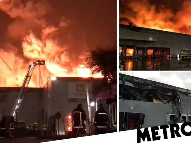 Huge Ocado warehouse fire was started by robot charger that malfunctioned