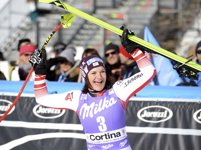 Siebenhofer earns back-to-back downhill victories at women's Alpine Skiing World Cup
