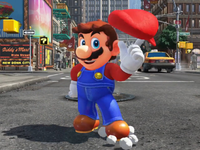 We played the insane new Mario game, Super Mario Odyssey — this is what it's like