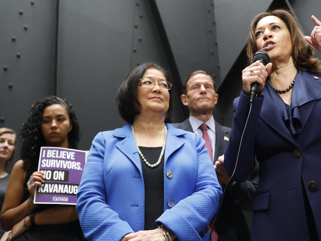 Senate Judiciary Committee's Only 4 Women Reflect On Kavanaugh's Confirmation
